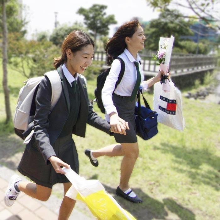SJA School virtual tour Korea